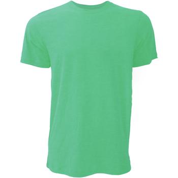 textil Herre T-shirts m. korte ærmer Bella + Canvas CA3001 Heather Kelly Green