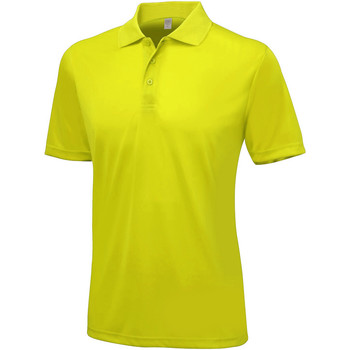 textil Herre Polo-t-shirts m. korte ærmer Awdis Smooth Sun Yellow