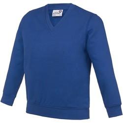 textil Børn Sweatshirts Awdis AC03J Deep Royal
