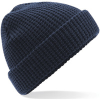 Accessories Huer Beechfield Waffle Knit French Navy