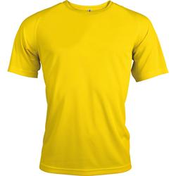 textil Herre T-shirts m. korte ærmer Kariban Proact PA438 True Yellow