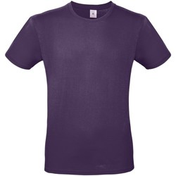 textil Herre T-shirts m. korte ærmer B And C TU01T Urban Purple