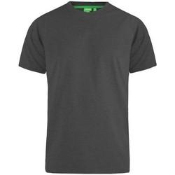 textil Herre T-shirts m. korte ærmer Duke Flyers-2 Charcoal Melange