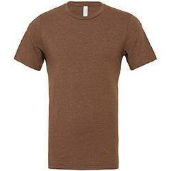 textil Herre T-shirts m. korte ærmer Bella + Canvas CA3001 Heather Brown