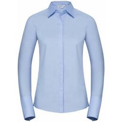 textil Dame Skjorter / Skjortebluser Russell 960F Bright Sky