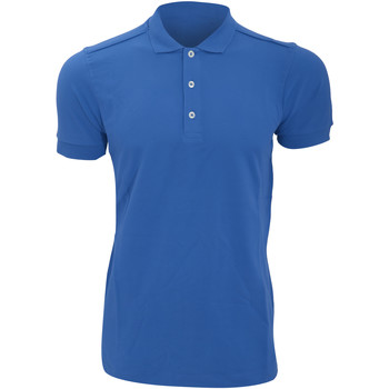 textil Herre Polo-t-shirts m. korte ærmer Russell 566M Azure Blue