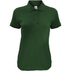 textil Dame Polo-t-shirts m. korte ærmer B And C Safran Bottle Green