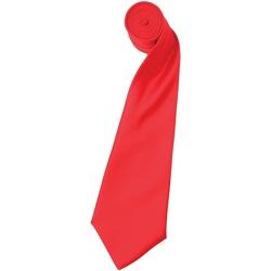 textil Herre Slips og accessories Premier Satin Strawberry Red