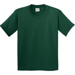 textil Børn T-shirts m. korte ærmer Gildan 5000B Forest Green