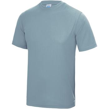 textil Børn T-shirts m. korte ærmer Awdis JC01J Sky Blue