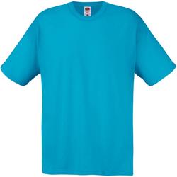 textil Herre T-shirts m. korte ærmer Universal Textiles 61082 Cyan