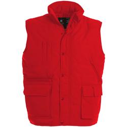 textil Herre Veste / Cardigans B And C Explorer Red