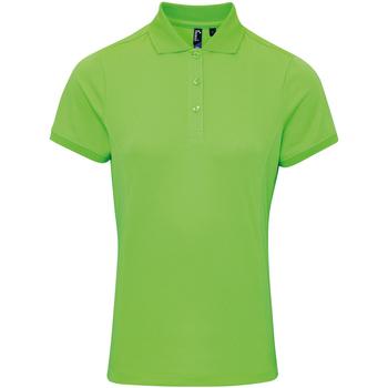 textil Dame Polo-t-shirts m. korte ærmer Premier PR616 Neon Green