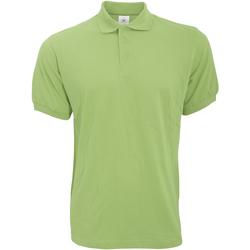 textil Herre Polo-t-shirts m. korte ærmer B And C PU409 Pistachio