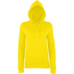 textil Dame Sweatshirts Awdis Girlie Sun Yellow