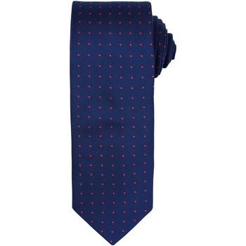 textil Herre Slips og accessories Premier Dot Pattern Navy/ Red