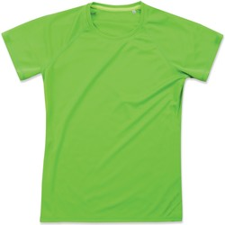 textil Dame T-shirts m. korte ærmer Stedman  Kiwi Green