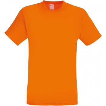 textil Herre T-shirts m. korte ærmer Universal Textiles 61082 Bright Orange