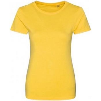 textil Dame T-shirts m. korte ærmer Ecologie EA01F Sun Yellow