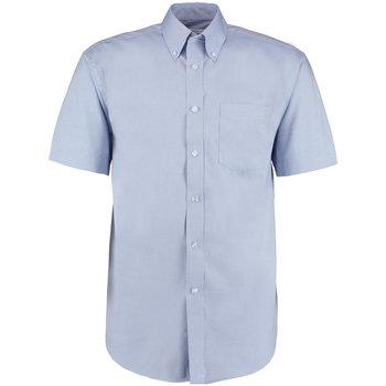 textil Herre Skjorter m. korte ærmer Kustom Kit KK109 Light Blue