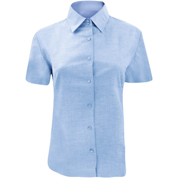 textil Dame Skjorter / Skjortebluser Russell 933F Oxford Blue