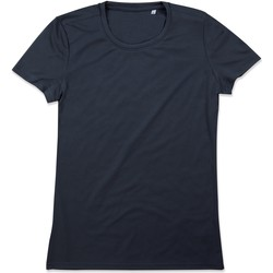 textil Dame T-shirts m. korte ærmer Stedman  Blue Midnight