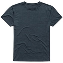 textil Herre T-shirts m. korte ærmer Stedman  Marina Heather