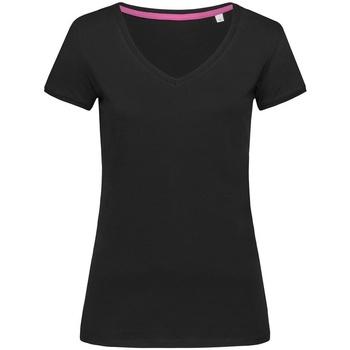 textil Dame T-shirts m. korte ærmer Stedman Stars Megan Black Opal