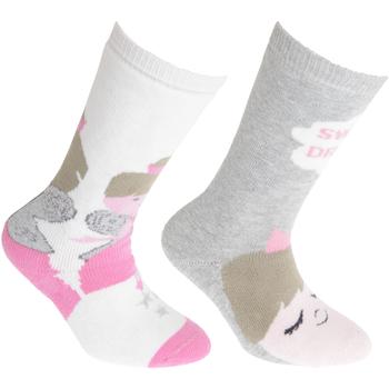 Accessories Børn Strømper Floso Welly Cream/Pink