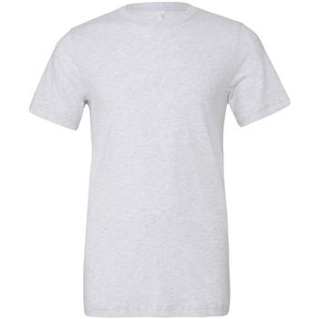 textil Herre T-shirts m. korte ærmer Bella + Canvas CA3413 White Fleck Triblend