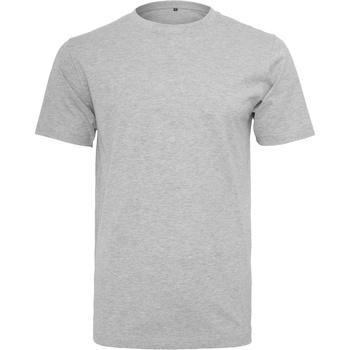 textil Herre T-shirts m. korte ærmer Build Your Brand BY004 Heather Grey