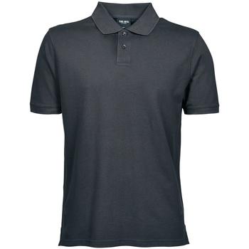 textil Herre Polo-t-shirts m. korte ærmer Tee Jays TJ1400 Dark Grey