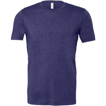 textil Herre T-shirts m. korte ærmer Bella + Canvas CA3001 Heather Midnight Navy