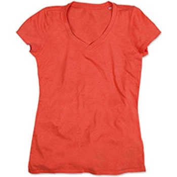 textil Dame T-shirts m. korte ærmer Stedman Stars  Pumpkin Heather