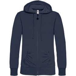 textil Dame Sweatshirts B And C WW641 Navy Blue