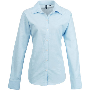 textil Dame Skjorter / Skjortebluser Premier PR334 Light Blue