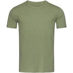 textil Herre T-shirts m. korte ærmer Stedman Stars Morgan Military Green