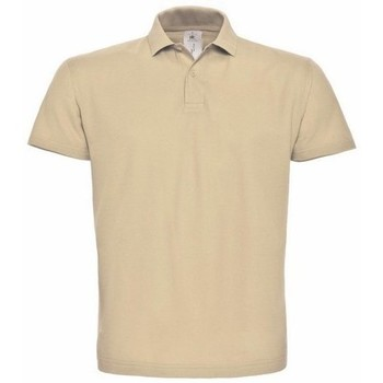 textil Herre Polo-t-shirts m. korte ærmer B And C PUI10 Sand