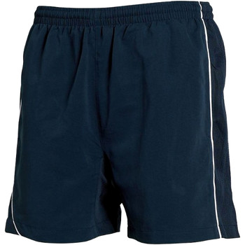 textil Herre Shorts Tombo Teamsport TL081 Navy/Navy/ White Piping