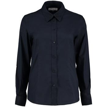 textil Dame Skjorter / Skjortebluser Kustom Kit KK361 French Navy