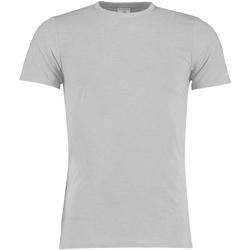textil Herre T-shirts m. korte ærmer Kustom Kit KK504 Light Grey Marl