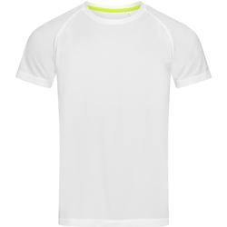 textil Herre T-shirts m. korte ærmer Stedman  White