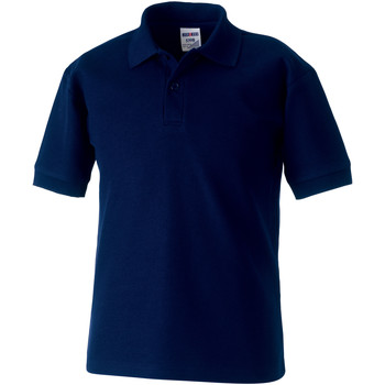 textil Dreng Polo-t-shirts m. korte ærmer Jerzees Schoolgear 539B French Navy