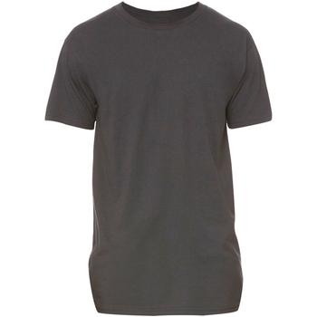 textil Herre T-shirts m. korte ærmer Bella + Canvas Long Body Dark Grey Heather