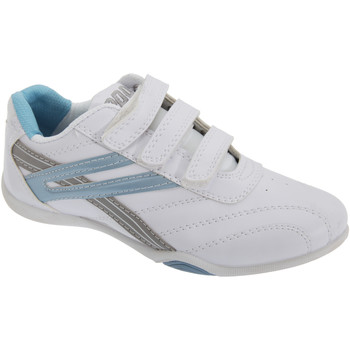 Sko Dame Lave sneakers Dek Raven White/Light Blue