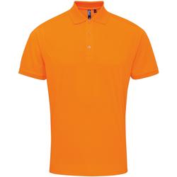 textil Herre Polo-t-shirts m. korte ærmer Premier PR615 Neon Orange