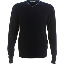 textil Herre Pullovere Kustom Kit KK358 Navy/ Silver Grey