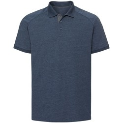 textil Herre Polo-t-shirts m. korte ærmer Russell R565M Bright Navy Marl
