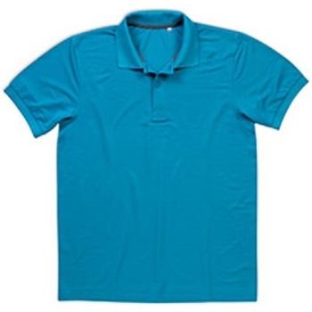 textil Herre Polo-t-shirts m. korte ærmer Stedman  Hawaii Blue