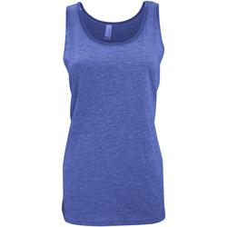 textil Dame Toppe / T-shirts uden ærmer Bella + Canvas CA3480 True Royal Triblend